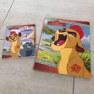 Disney the Lion guard + wild activities