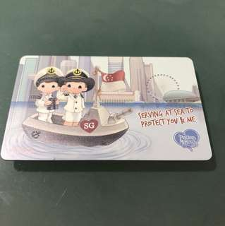 Limited edition Precious moment ez link card