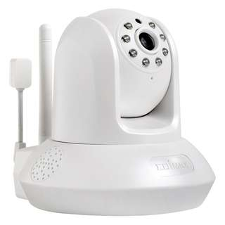 Edimax HD Wi-Fi Day & Night Pan/Tilt Network Camera with Temperature & Humidity Sensor, 2-Way Audio, 720P IC-7113W