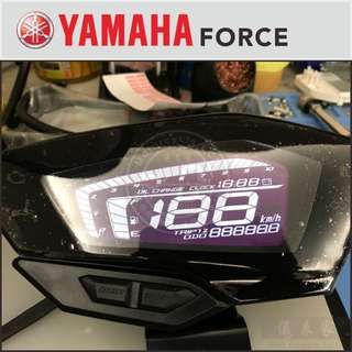 YAMAHA  Force液晶高反差燈光改裝維修