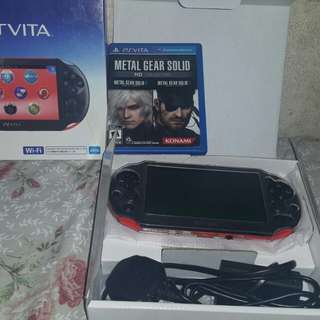 For sale only Ps vita Slim 3.65