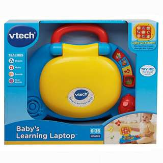 BNIB VTech Baby's Learning Laptop Toy