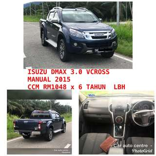 ISUZU DMAX 3.0 VCROSS MANUAL 2015