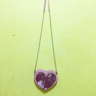 H&M love pink slingbag