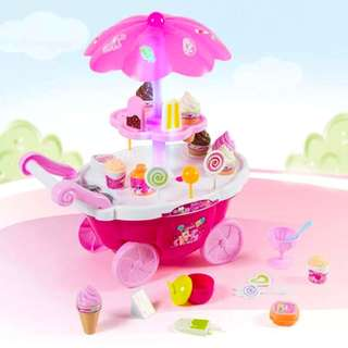 Luxury Candy Cart Ice Cream & Sweet Shop