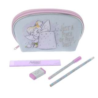 Japan Disneystore Disney Store Tinker Bell Animator Collection Pencil Case Set