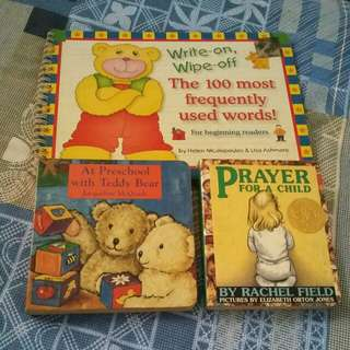 Set of boardbooks