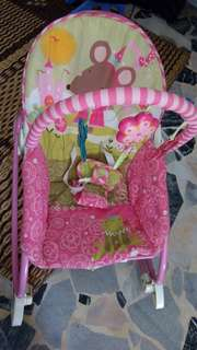 Baby Rocker Pink Fisher & Price