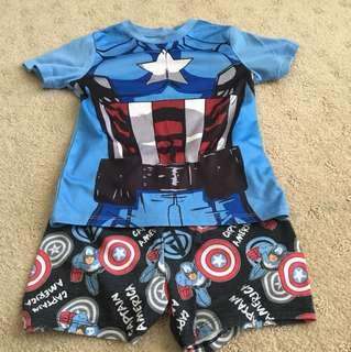 Captain America PJ set