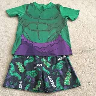 Hulk PJ set