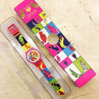 🚚 超稀有!Swatch X Manish Arora 設計款