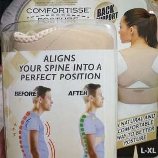 Repriced! Comfortisse Posture: Aligns Spine to a Perfect Position