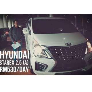 Car Rental Kuala Lumpur Hyundai Starex 2018 Setiawangsa