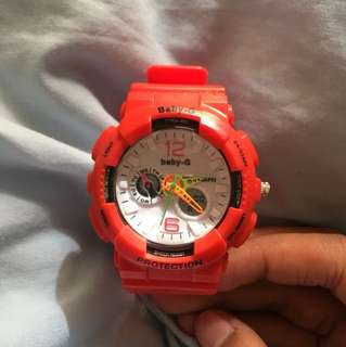 BABY-G (RED)
