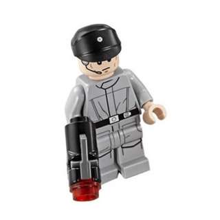LEGO Minifigure - Star Wars 75134 - Imperial Crew (black cap) (NEW)