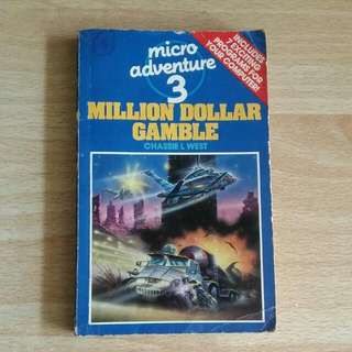 #SALE #25RibuKebawah #NETT [Ed Bhs Inggris] Micro Adventure 3 Million Dollar Gamble