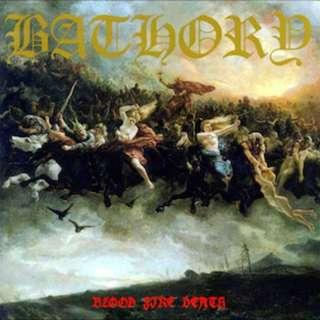 Bathory – Blood Fire Death Vinyl LP