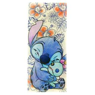 Japan Disneystore Disney Store Stitch & Scrump Hibiscus Ticket Case
