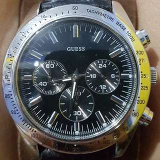 Jam Tangan Pria Guess/Guess Men's Chase Chronograph Watch
