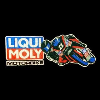 LiquiMoly Motorbike Reflective Decal