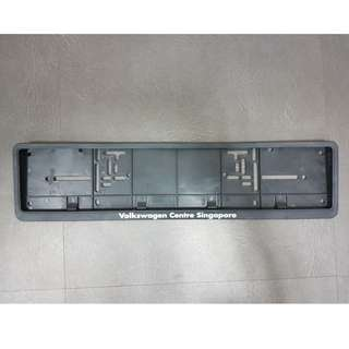 Volkswagen Front Number Plate Holder