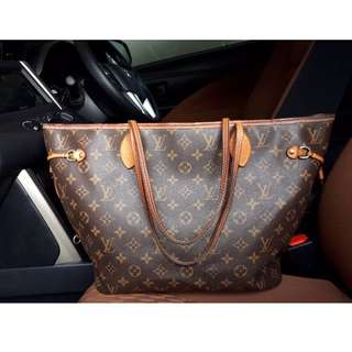 Louis Vuitton Neverful 2013 MM authentic