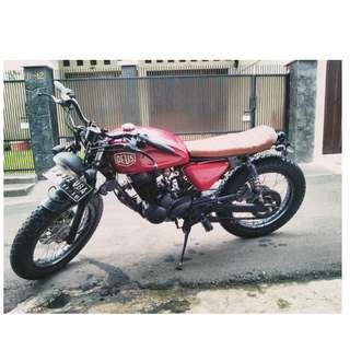 honda tiger 200cc custom ( japstyle, caferacer, bratstyle)