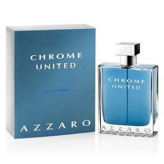 AZZARO CHROME UNITED EDT FOR MEN (100ml/Tester)
