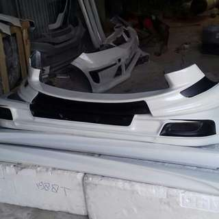 Body kit yaris acces 2013 satu set