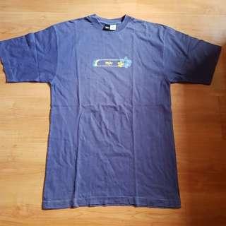 Mossimo Blue Crew Neck Shirt