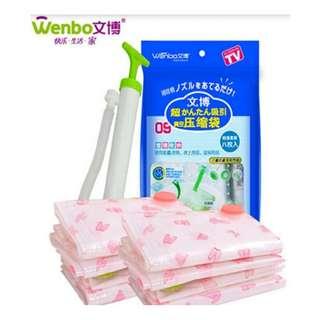 Plastic vacum untuk packing pakaian - HPR089