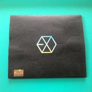exo albums w/o photocard