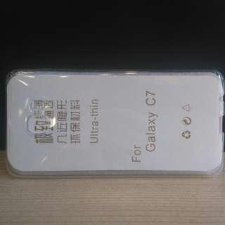 Samsung Galaxy C7 透明手機套
