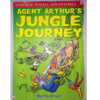 Preloved Usborne Book - Agent Arthur's Jungle Journey
