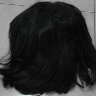 Wig Rambut Lurus Sebahu