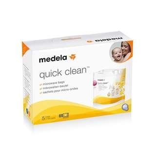 Medela Quick Clean Micro-Steam Bags, 5 pcs