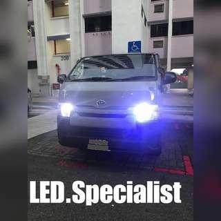 Hiace LED Headlight