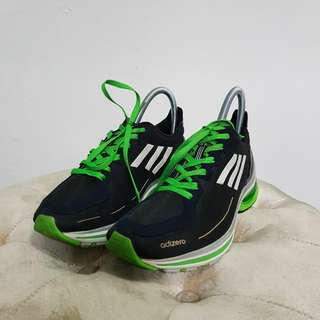 Adidas Adizero F50 Women Black Green Running Shoes Sepatu Lari Wanita Original Authentic