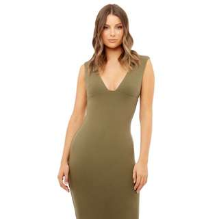 Kookai dress khaki/green