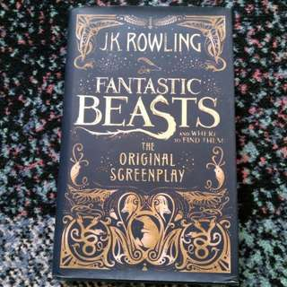 J.K. Rowling Fantastic Beast And Where To Find Them