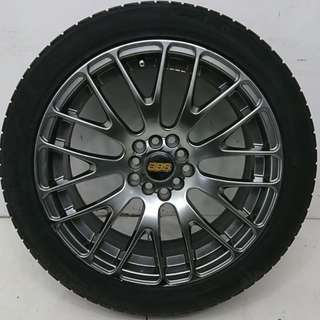 17 '' Sport Rim With Tyre 5x100 5x114.3 (SR848)