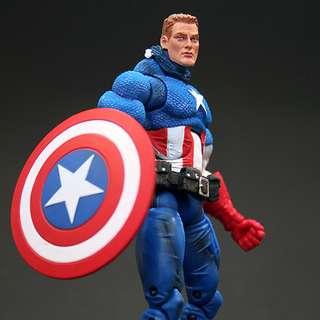 "Marvel Legends Icons 12"" Captain America Unmasked"