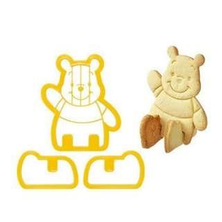 cetakan kue biskuit bentuk winnie the pooh mickey mouse lucu - HKN195