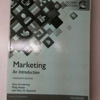 🚚 Marketing An Introduction 13e
