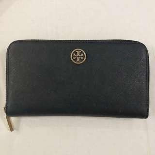 100% original tory burch black wallet