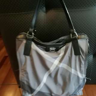 Authentic Burberry Nylon Bag