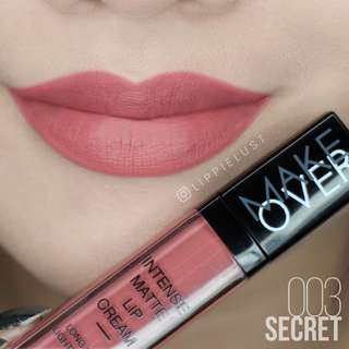 Make Over Intense Matte Lip Cream No. 3 Secret