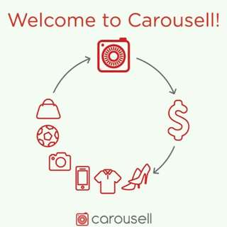 Welcome to Carousell😊!