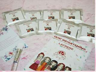 Masker wajah Red Velvet (Skin Brightening Treatment)