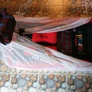 Tilam baby sekali kelambu